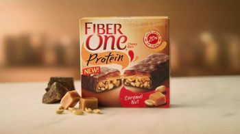 Fiber One Caramel Nut Protein Bar TV Spot, 'Not a Candy Bar' - Thumbnail 9
