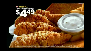 Dairy Queen Chicken Strip Basket TV Spot, 'InDQredible' - Thumbnail 7