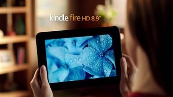 Amazon Kindle Fire HD TV Spot, 'iPad with Retina Display Comparison' - Thumbnail 2