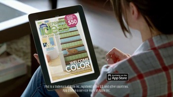 Lowe's Creative Ideas Magazine TV Spot, 'Drafts' Song by Oxford - Thumbnail 7
