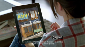 Lowe's Creative Ideas Magazine TV Spot, 'Drafts' Song by Oxford - Thumbnail 8