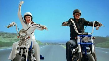 Progressive Motorcycle Insurance TV Spot, 'The Open Road'  - 189 commercial airings