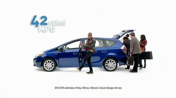 Toyota Prius V TV Spot Featuring Raphael Saadiq - Thumbnail 5