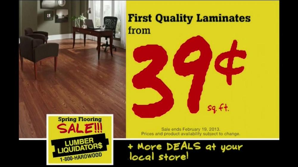 Lumber Liquidators Spring Flooring Sale Tv Spot Ispot Tv