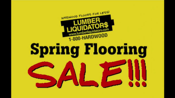 Lumber Liquidators Spring Flooring Sale TV Spot - Thumbnail 8