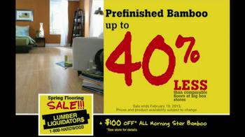 Lumber Liquidators Spring Flooring Sale TV Spot - Thumbnail 4