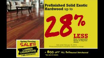 Lumber Liquidators Spring Flooring Sale TV Spot - Thumbnail 5