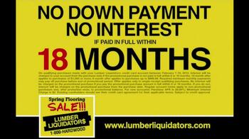 Lumber Liquidators Spring Flooring Sale TV Spot - Thumbnail 7