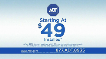 ADT TV Spot, 'No Bundling with Cable' - Thumbnail 9