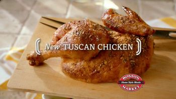 Boston Market Tuscan Chicken TV Spot