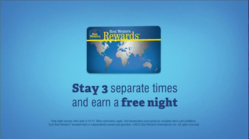 Best Western TV Spot, 'Stay With Me' - Thumbnail 6