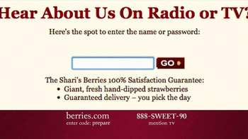 Shari's Berries TV Spot 'Valentine's Day Fruit' - Thumbnail 6