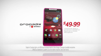 Verizon Droid Razr M TV Spot, 'Sky Diver' - Thumbnail 7