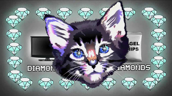 Zales Replace Everything with Diamonds Month TV Spot 'Diamond Cats' - Thumbnail 4
