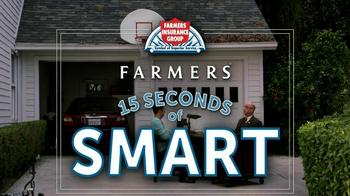 Farmers Insurance TV Spot, '15 Seconds of Smart: Drive Safe' - Thumbnail 1