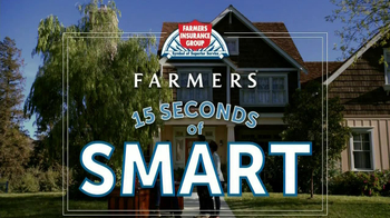 Farmers Insurance TV Spot, '15 Seconds of Smart: Home Protection' - Thumbnail 1