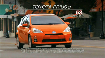 Toyota Prius TV Spot 'Look at That' - 768 commercial airings