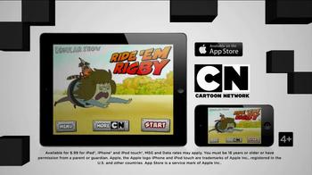 Cartoon Network Ride 'Em Rigby App TV Spot  - Thumbnail 7