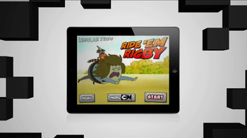 Cartoon Network Ride 'Em Rigby App TV Spot