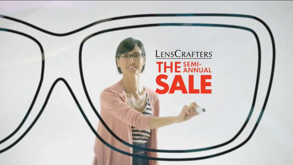 be3d38f108 LensCrafters Semi-Annual Sale TV Commercial - iSpot.tv
