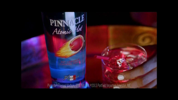 Pinnacle Vodka Atomic Hot TV Spot, 'On Top'