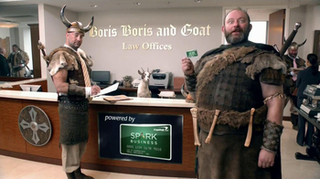 Capital One Spark Business TV Spot, 'Boris, Boris and Goat Law Offices' - Thumbnail 1