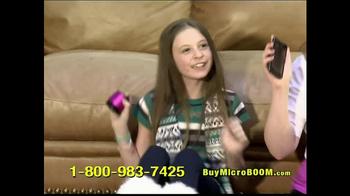 MicroBoom TV Spot