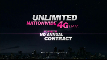 T-Mobile Unlimited Nationwide 4G TV Spot, 'No Contract' - Thumbnail 5