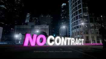 T-Mobile Unlimited Nationwide 4G TV Spot, 'No Contract' - Thumbnail 4
