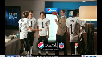 Pepsi TV Spot, 'Tryout' Featuring Drew Brees and One Direction - 59 commercial airings