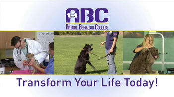 Animal Behavior College TV Spot, 'Transform Your Life Today' - Thumbnail 1