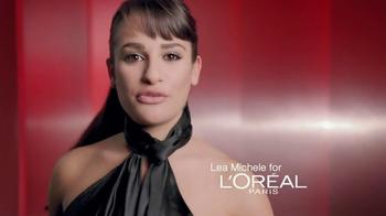 L'Oreal Telescopic Shocking Extensions Mascara TV Spot Feat. Lea Michele