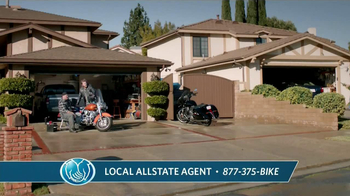 Allstate Genuine Parts Gurantee TV Spot, 'Back in the Saddle' - Thumbnail 1