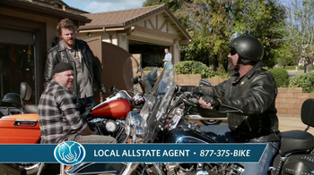 Allstate Genuine Parts Gurantee TV Spot, 'Back in the Saddle' - Thumbnail 2