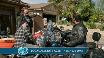 Allstate Genuine Parts Gurantee TV Spot, 'Back in the Saddle'