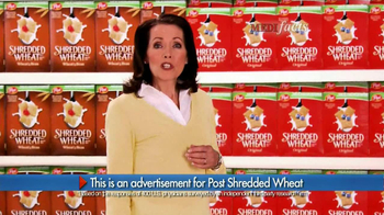 Post Shredded Wheat TV Spot, \'MediFacts\'