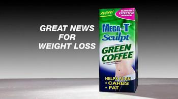 Mega-T Sculpt Green Coffee TV Spot, 'Great News' - Thumbnail 1