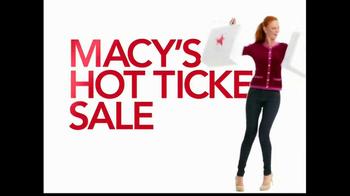 Macy's TV Spot, 'Hot Ticket Sale' Featuring Cintia Dicker - Thumbnail 6