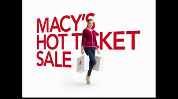 Macy's TV Spot, 'Hot Ticket Sale' Featuring Cintia Dicker - Thumbnail 2