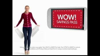 Macy's TV Spot, 'Hot Ticket Sale' Featuring Cintia Dicker - Thumbnail 5