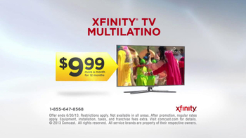 XFINITY TV MultiLatino TV Spot, 'Make Tomorrow Awesome With MultiLatino' - Thumbnail 8