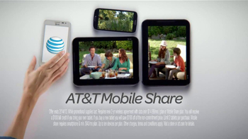 AT&T Mobile Share TV Spot, 'Share On All Devices' - Thumbnail 8