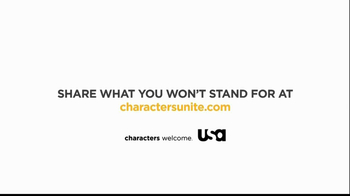 USA Network TV Spot, 'Characters Unite: I Won't Stand For' - Thumbnail 7
