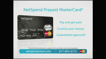 NetSpend Card TV Spot, 'Freedom' - Thumbnail 5
