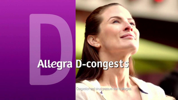Allegra-D TV Spot, 'Overwhelming Pressure' - Thumbnail 2