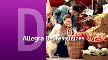 Allegra-D TV Spot, 'Overwhelming Pressure' - 662 commercial airings