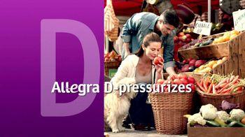 Allegra-D TV Spot, 'Overwhelming Pressure'