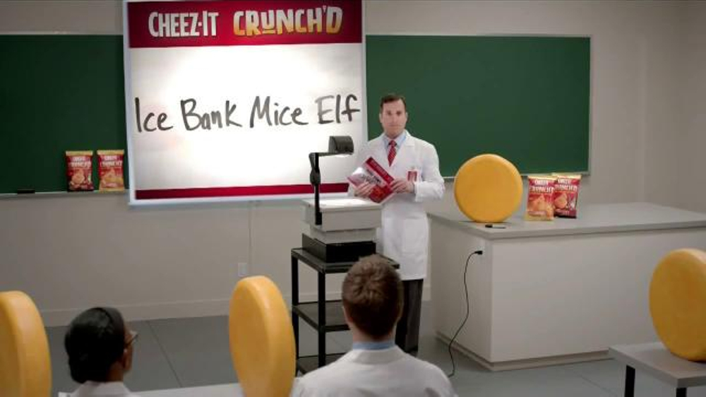 Cheez-It Crunch'd TV Commercial, 'Our First Ever Crunchy Puff'
