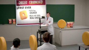 Cheez-It Crunch'd TV Spot, 'Our First Ever Crunchy Puff' - Thumbnail 3