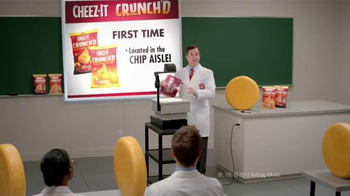 Cheez-It Crunch'd TV Spot, 'Our First Ever Crunchy Puff' - Thumbnail 5